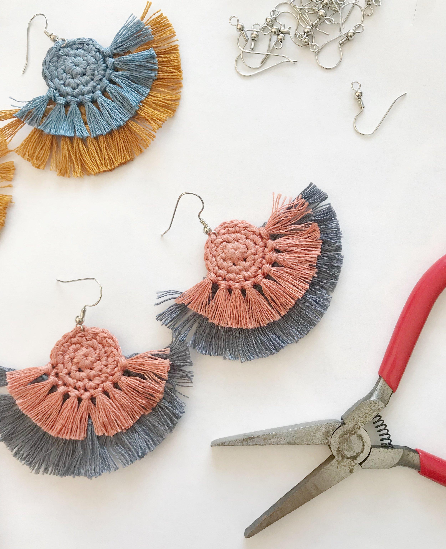 diy statement earrings