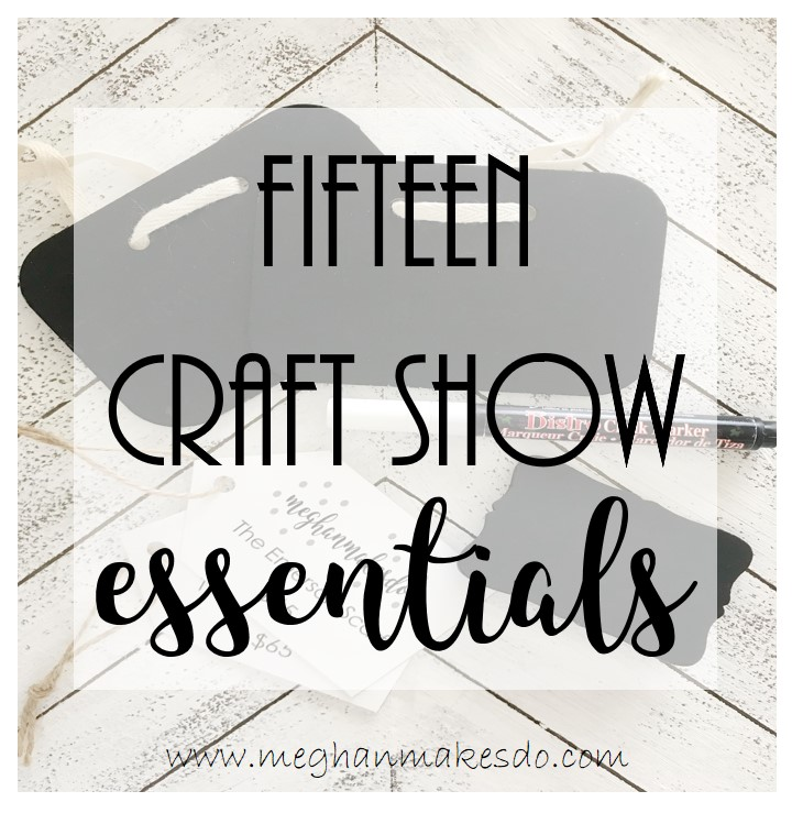 what to bring to craft shows
