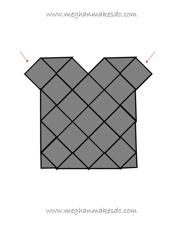 granny square top design