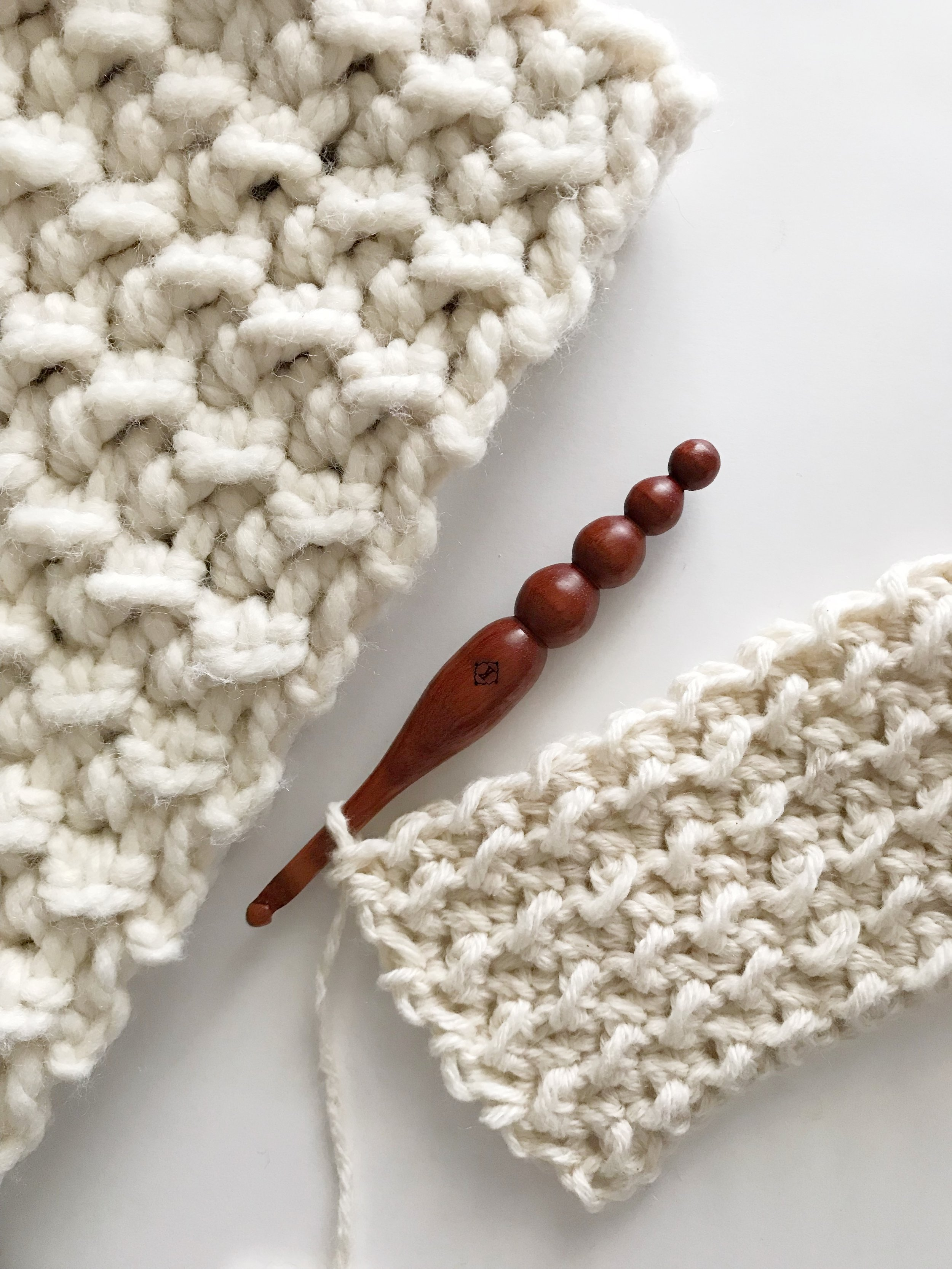 How To Crochet The Even Moss Stitch — Meghan Makes Do