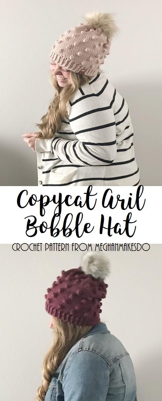 copycat aril bobble hat