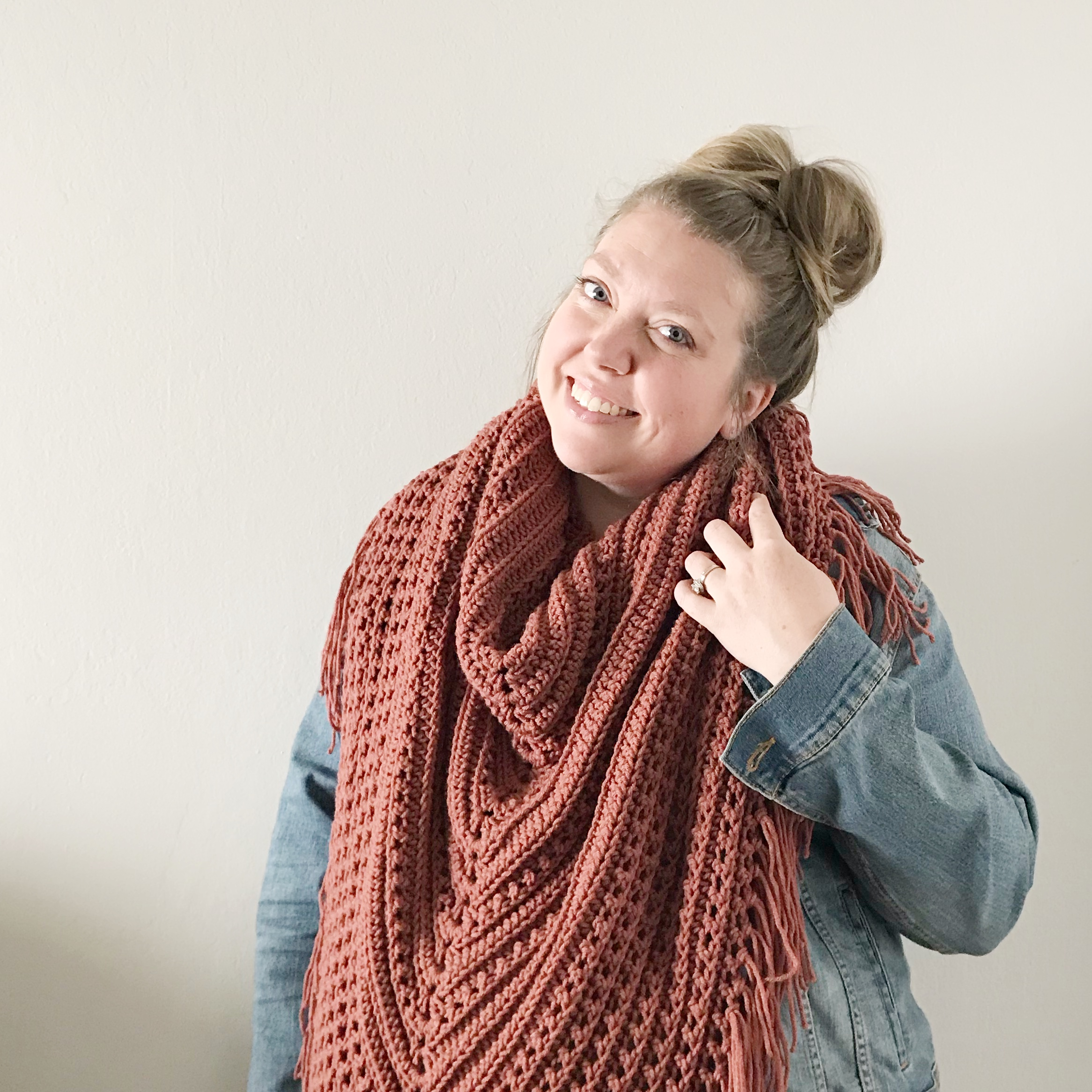 The Huckleberry Scarf Free Crochet Pattern