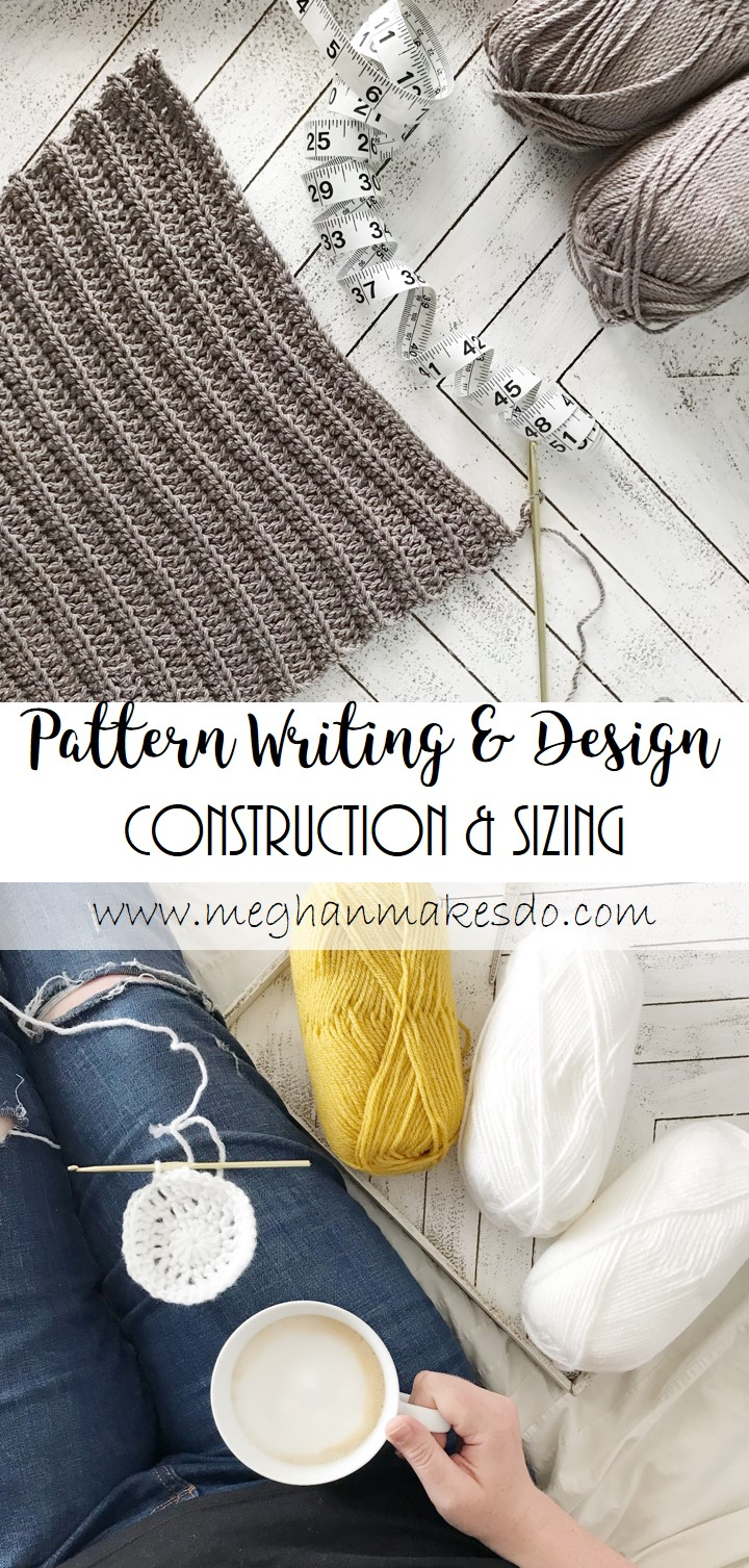 how to construction a crochet pattern