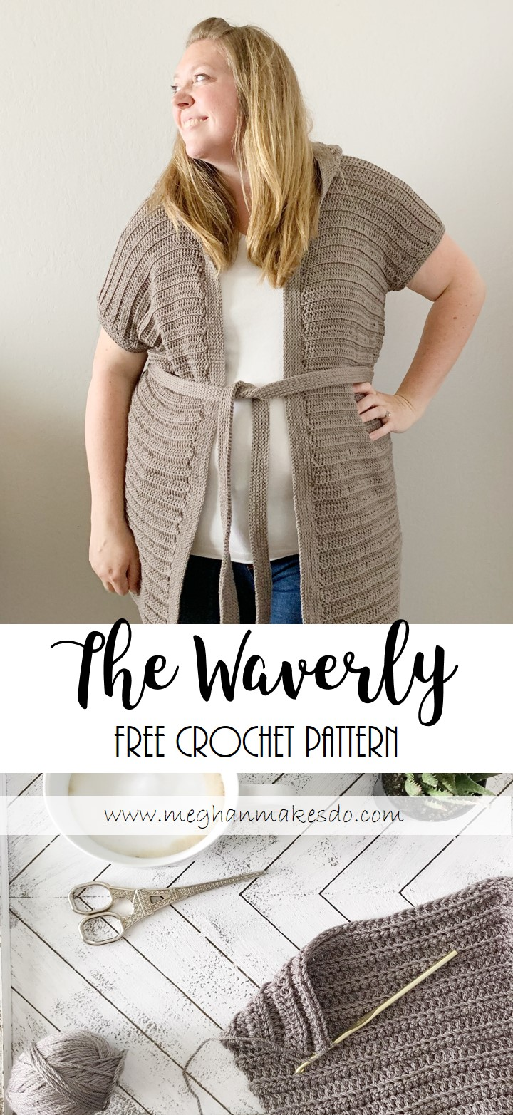 free crochet cardigan for the summer
