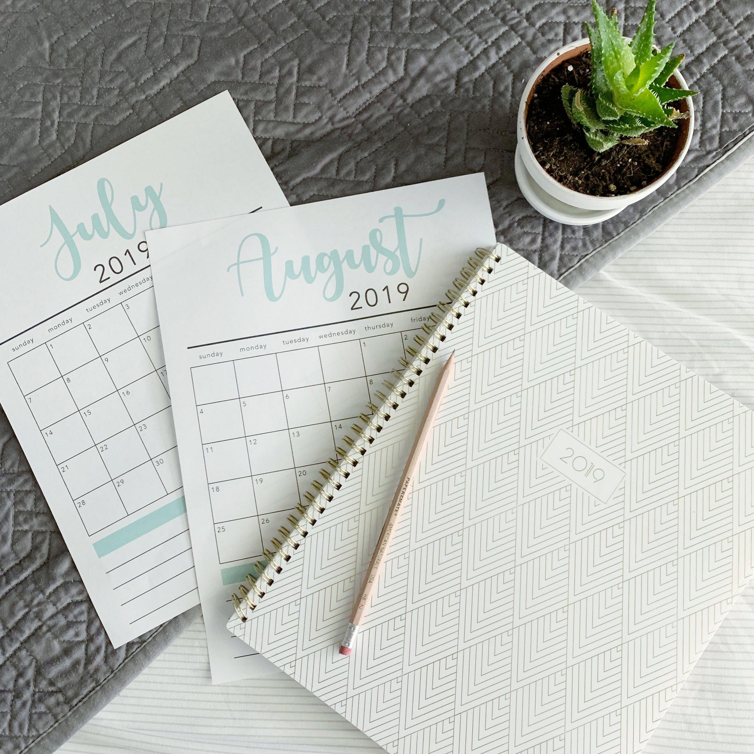 content calendars for Instagram