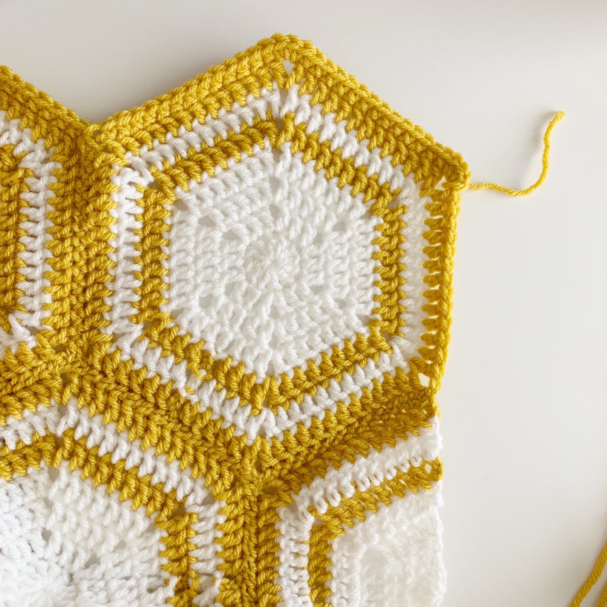 adding a boarder to a crochet blanket