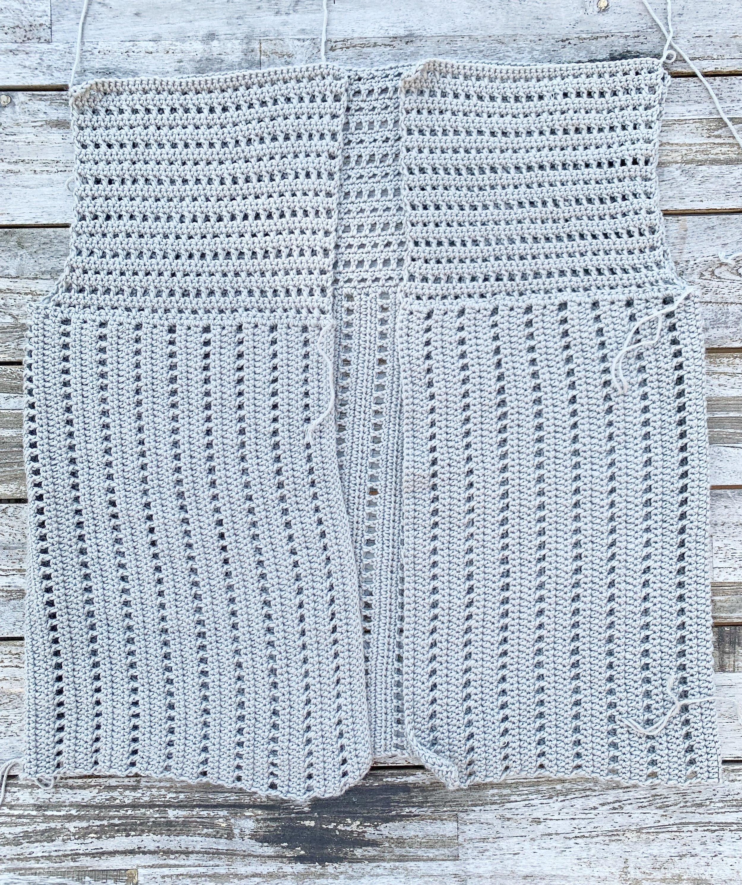free crochet cardigan pattern