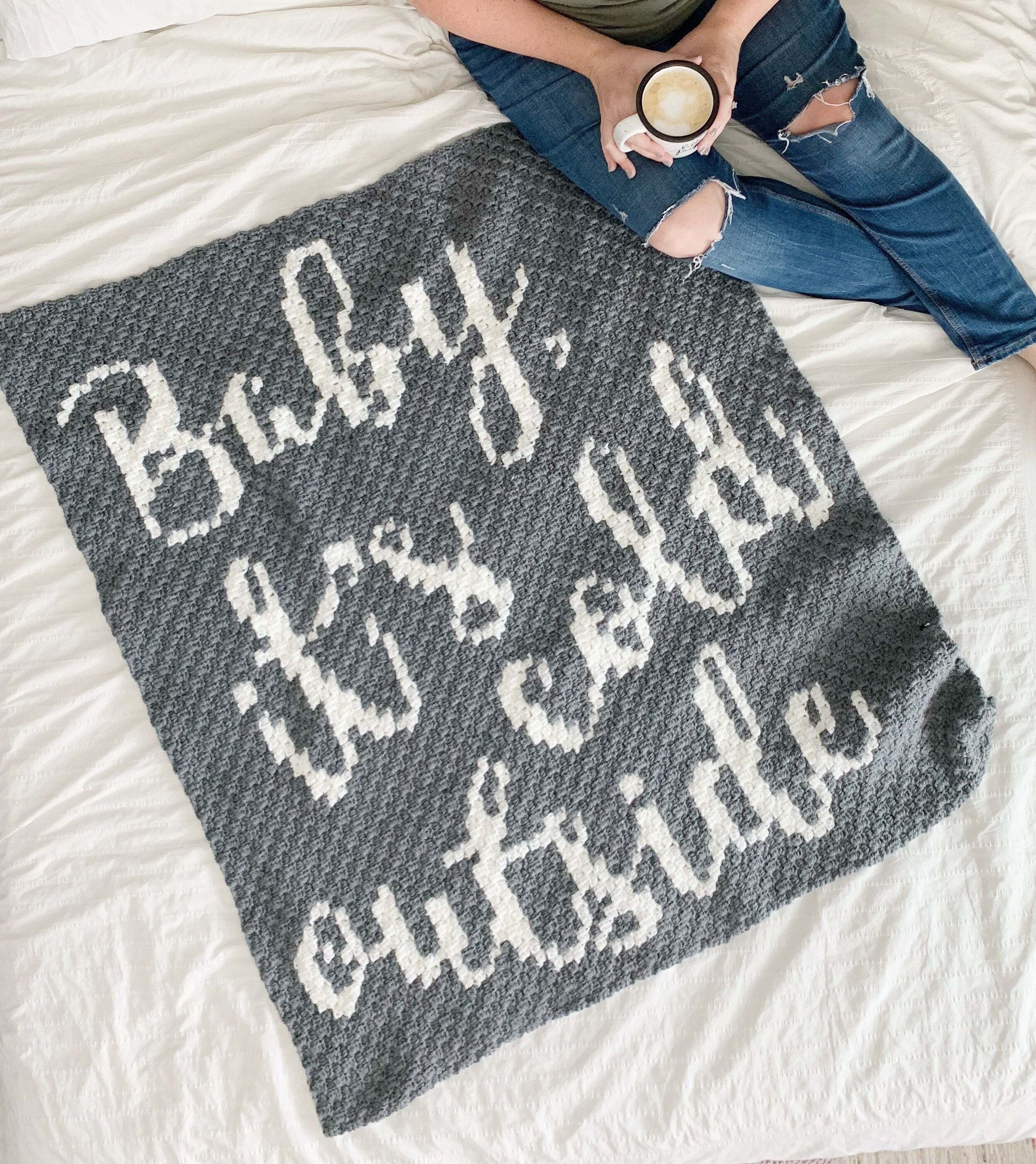 baby it's cold outside blanket