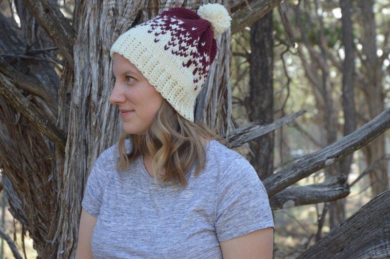 Oct 9 - Snowy Walk Ombre Hat - High Desert Yarn.jpg