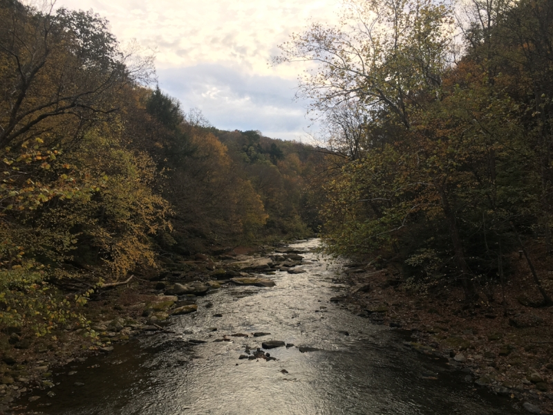 Slippery Rock Creek at McConnells Mill State Park, Pennsylvania.