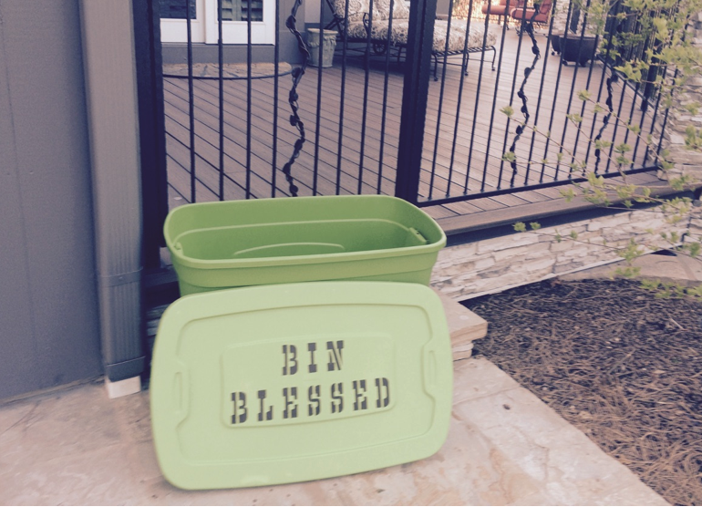 Bin Blessed out front of one of our Collectors Homes - So pretty! April 2015