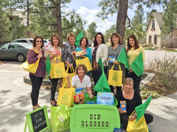 Bin Blessed ladies featured in the Castle Pines Connection Online - May 2015