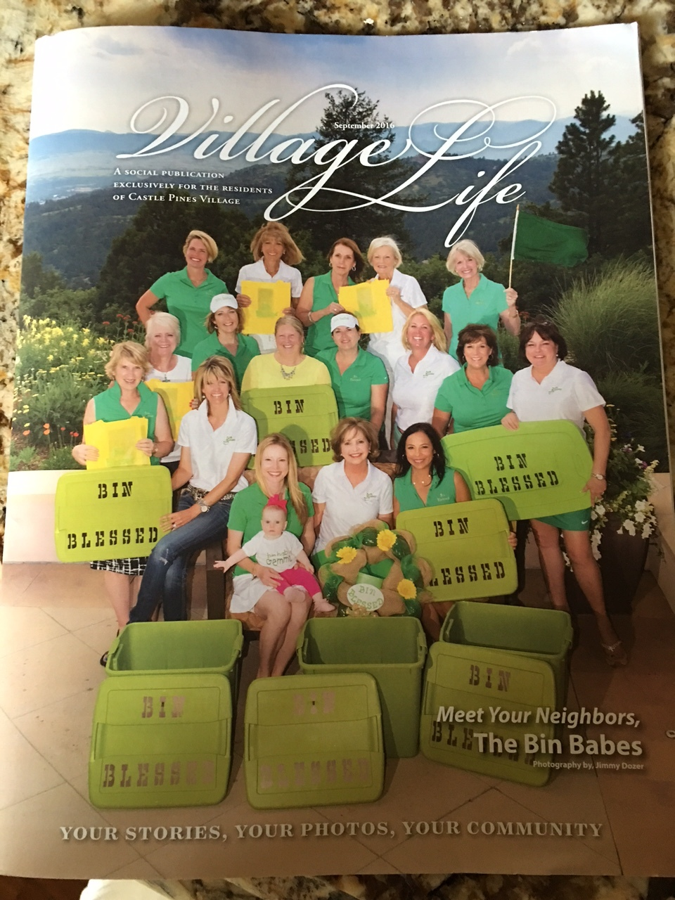 Featured in September 2016 Issue of Village Life