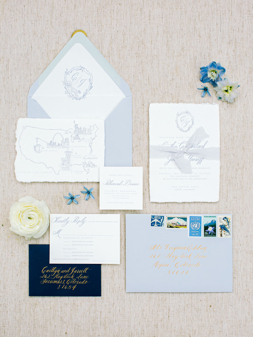 How To Address Wedding Invitations Kelsey Malie Calligraphy