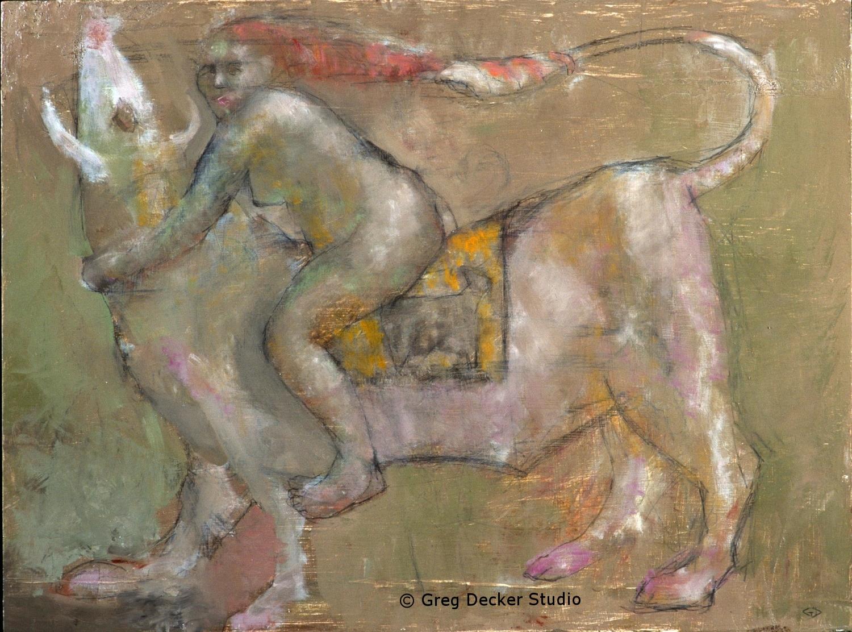 Woman and Bull (Europa)