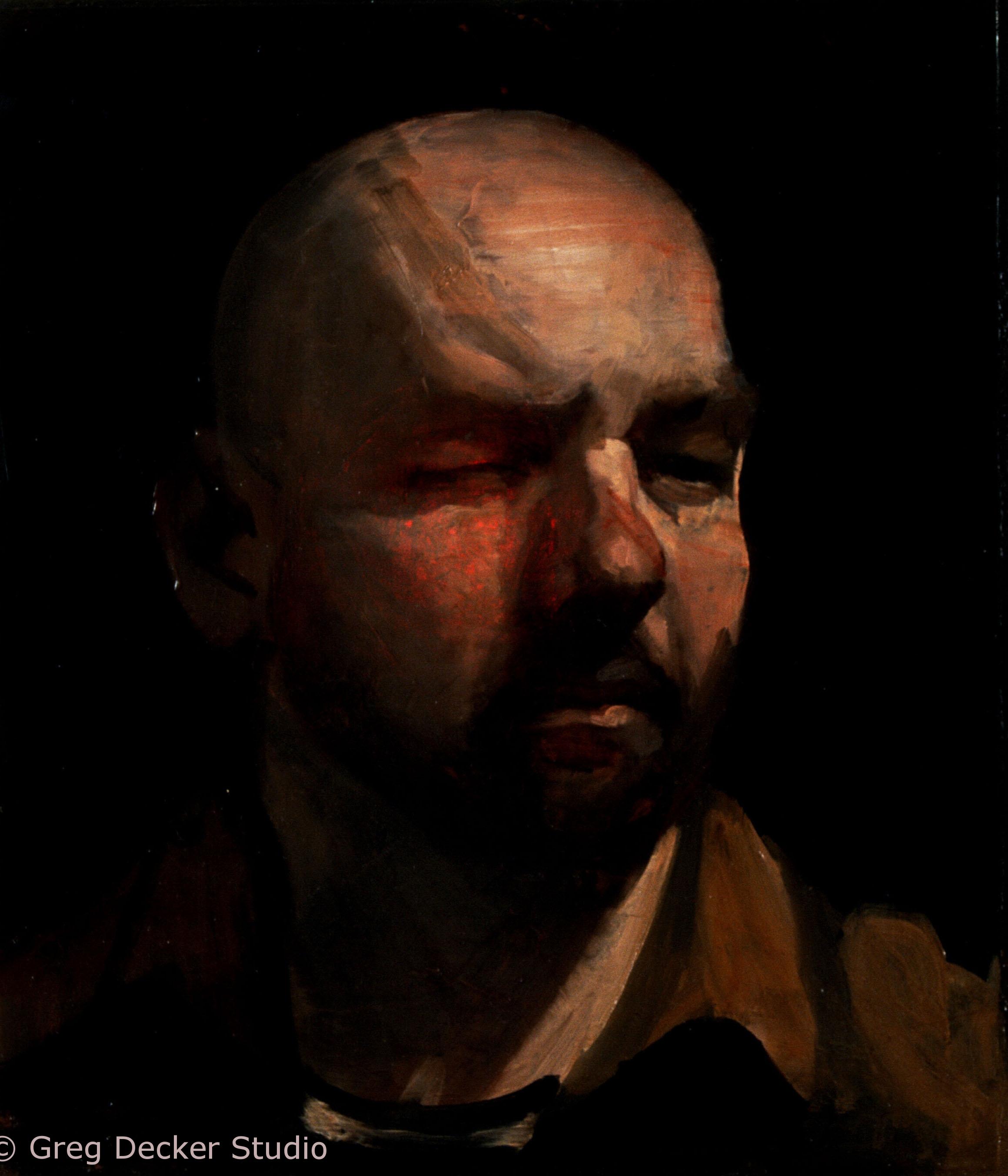 Self-Portrait (One Eye Closed)