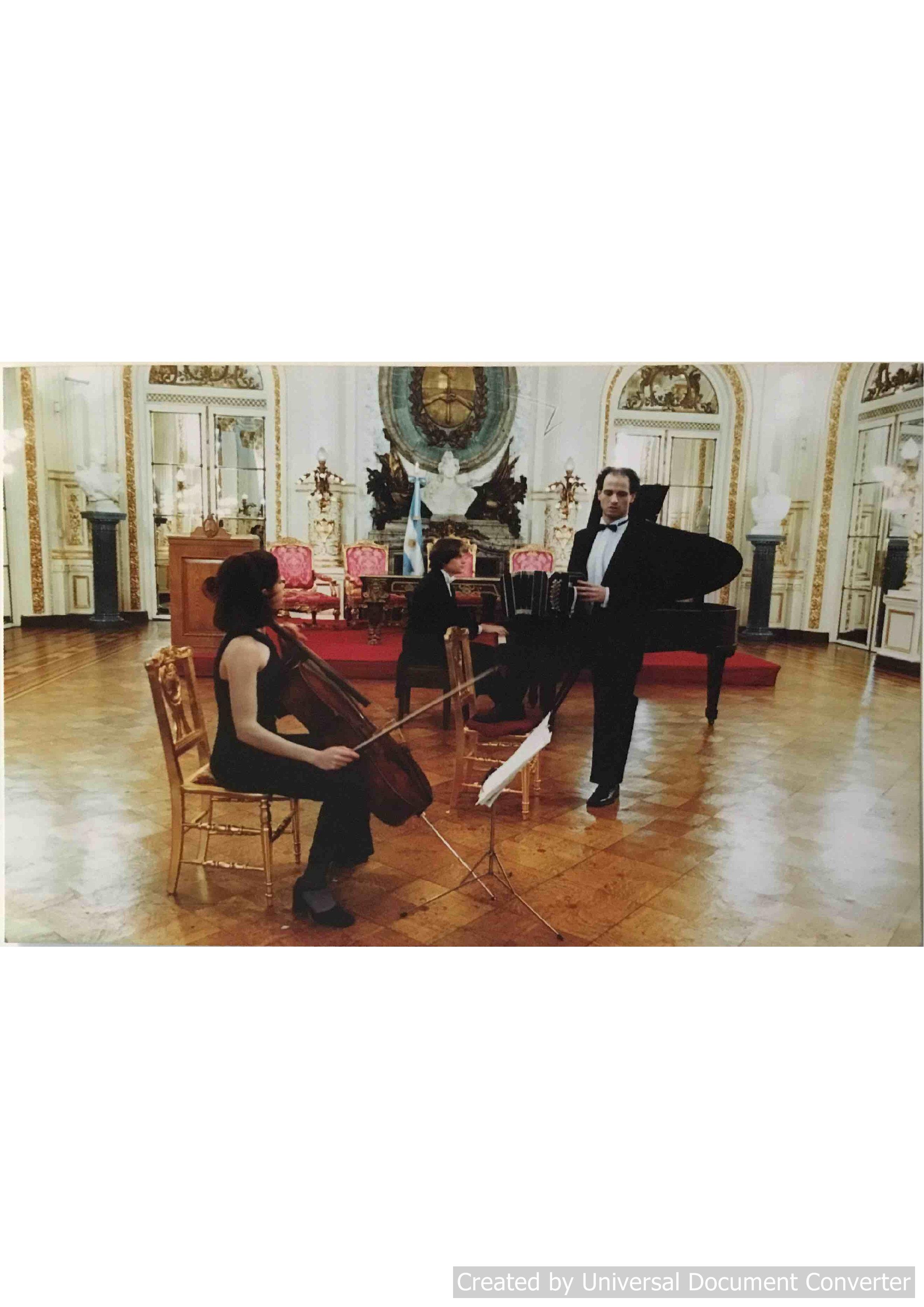 Trio Fundacion Astor Piazzolla
