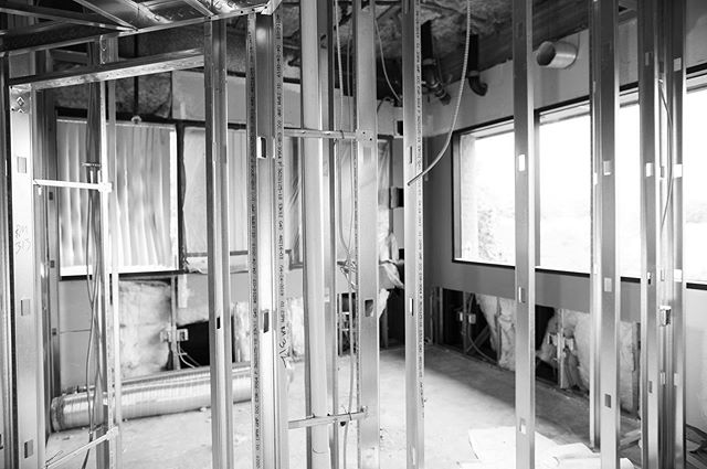 Post 3 of 4: Framing, Plumbing, and HVAC in just five days including inspections! It's all about decades of experience and having an A+ team. #dentalconstruction #dentaldesign #officeconstruction @rbndesign @adecdental