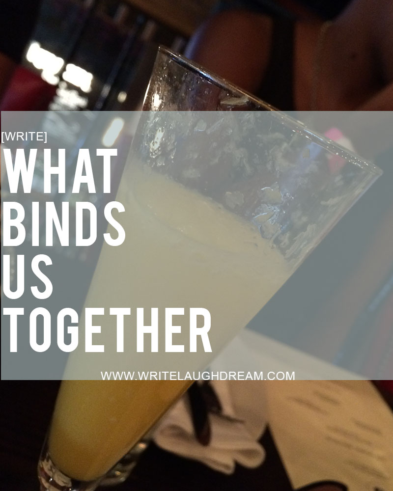 What Binds Us Together