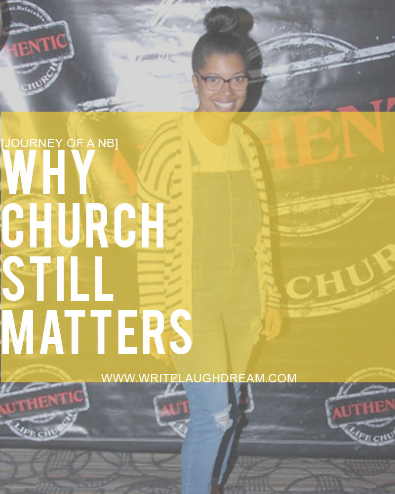 Going to Church Should Still Matter for Milllennial Generation
