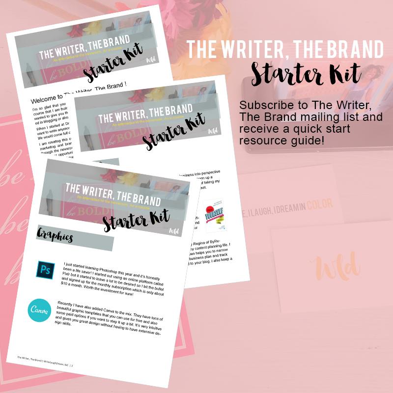 The Writer, The Brand Starter Kit