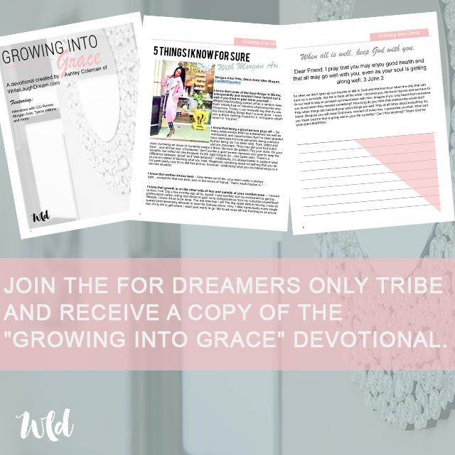 Growing Into Grace Devotional