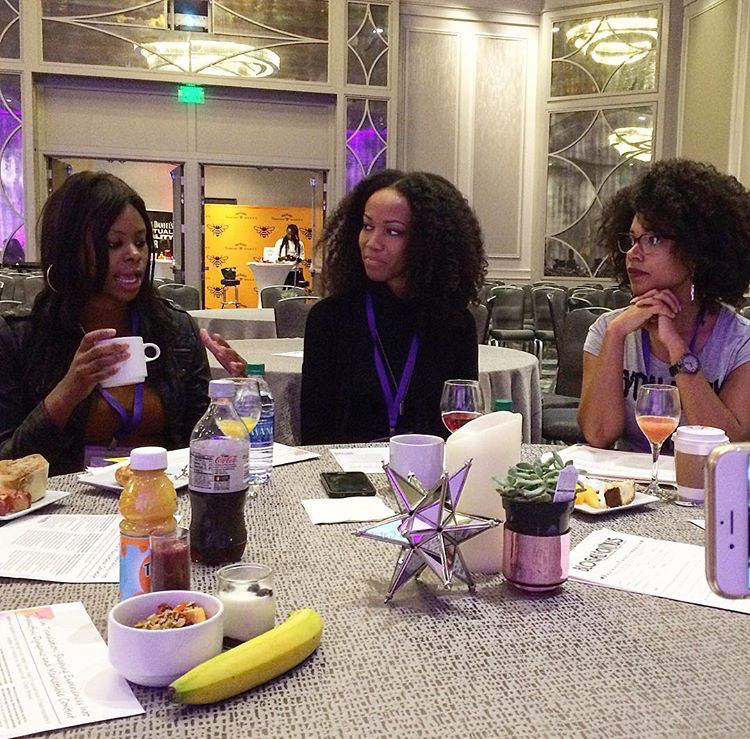 Breakfast Content Talk with GG Renee and Tyece Wilkins.