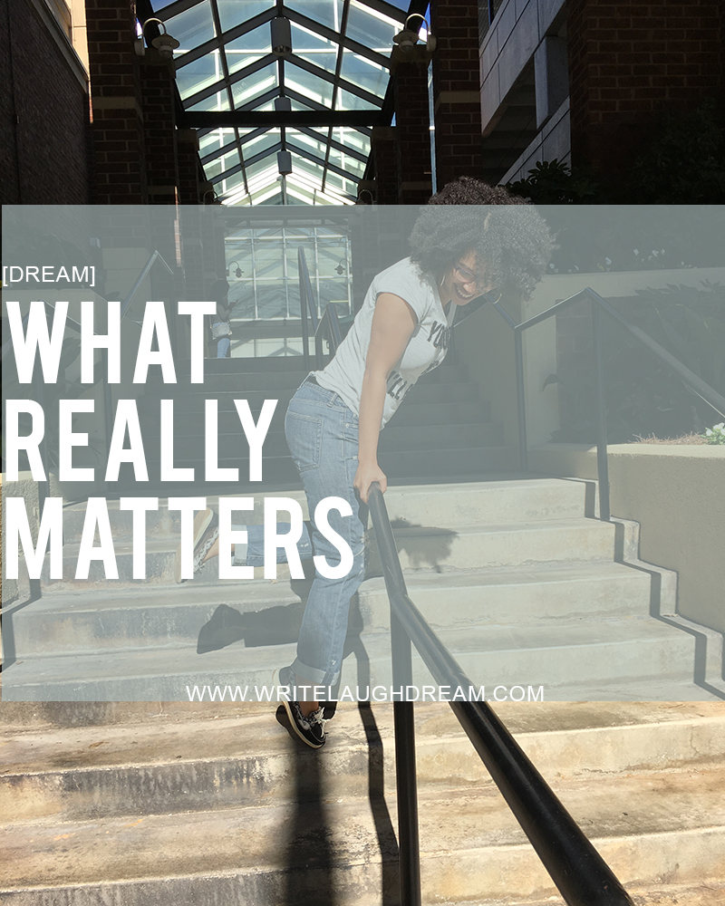 What Really Matters Graphic