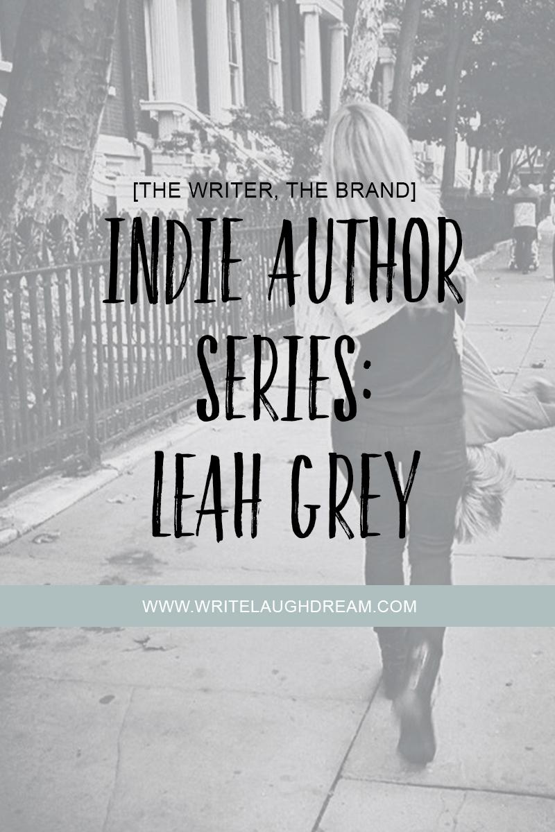 Indie Author Series Leah Grey
