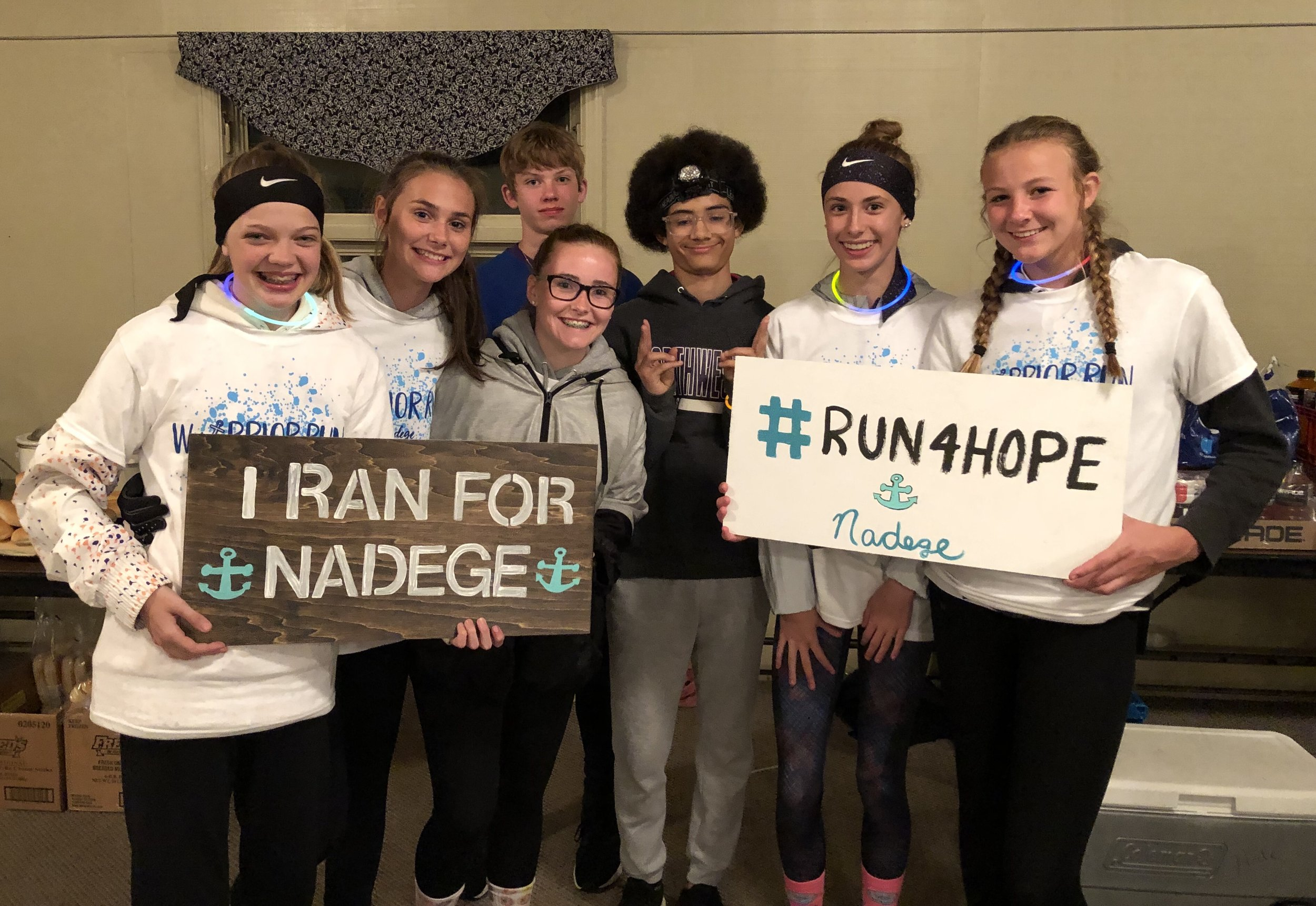Warrior Run at Oakbrook Valley to benefit Nadege, Inc.