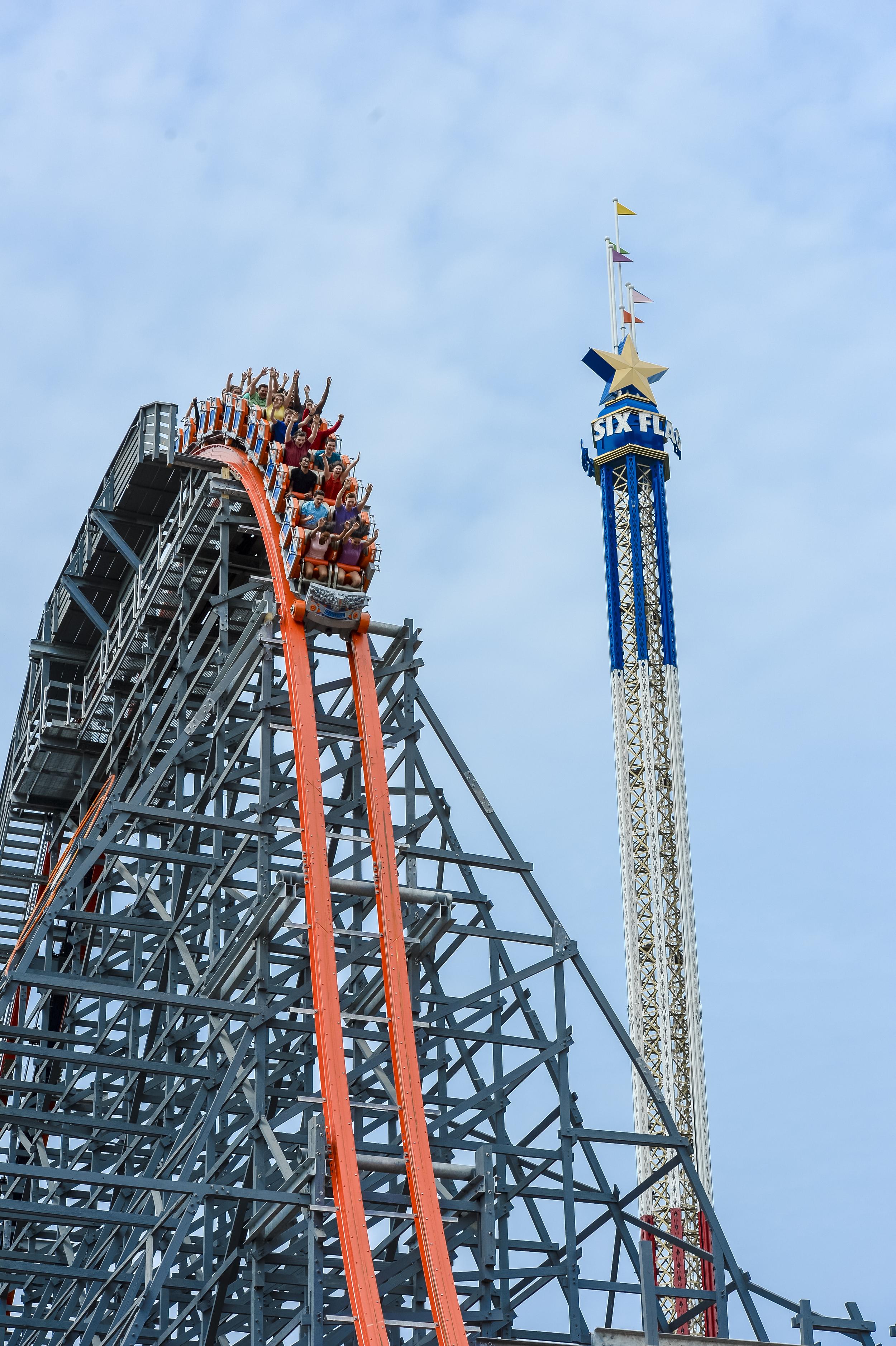 Photo courtesy of Six Flags New England