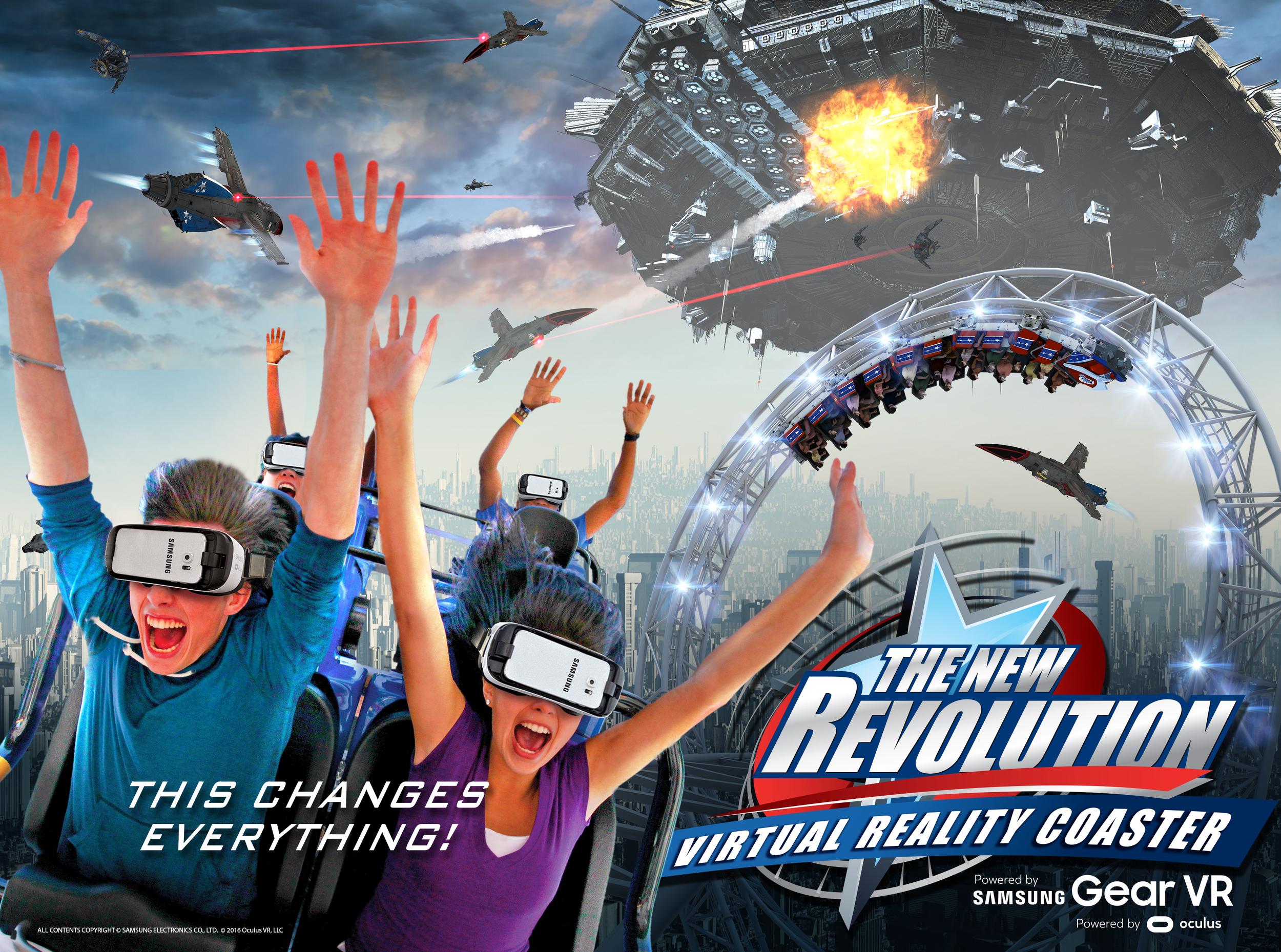 artwork courtesy Six Flags Magic Mountain