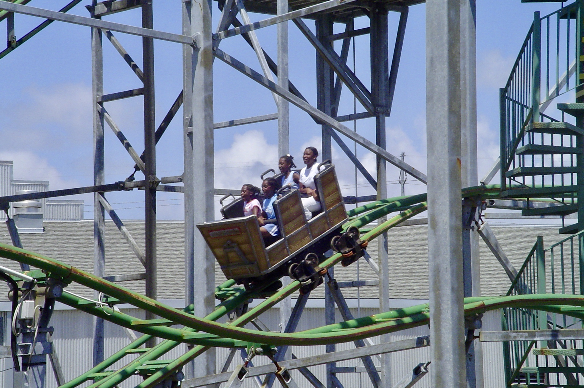 "I rode the ""Muskrat Scrambler"" mouse coaster.. err, muskrat coaster. Once and done. Check!"