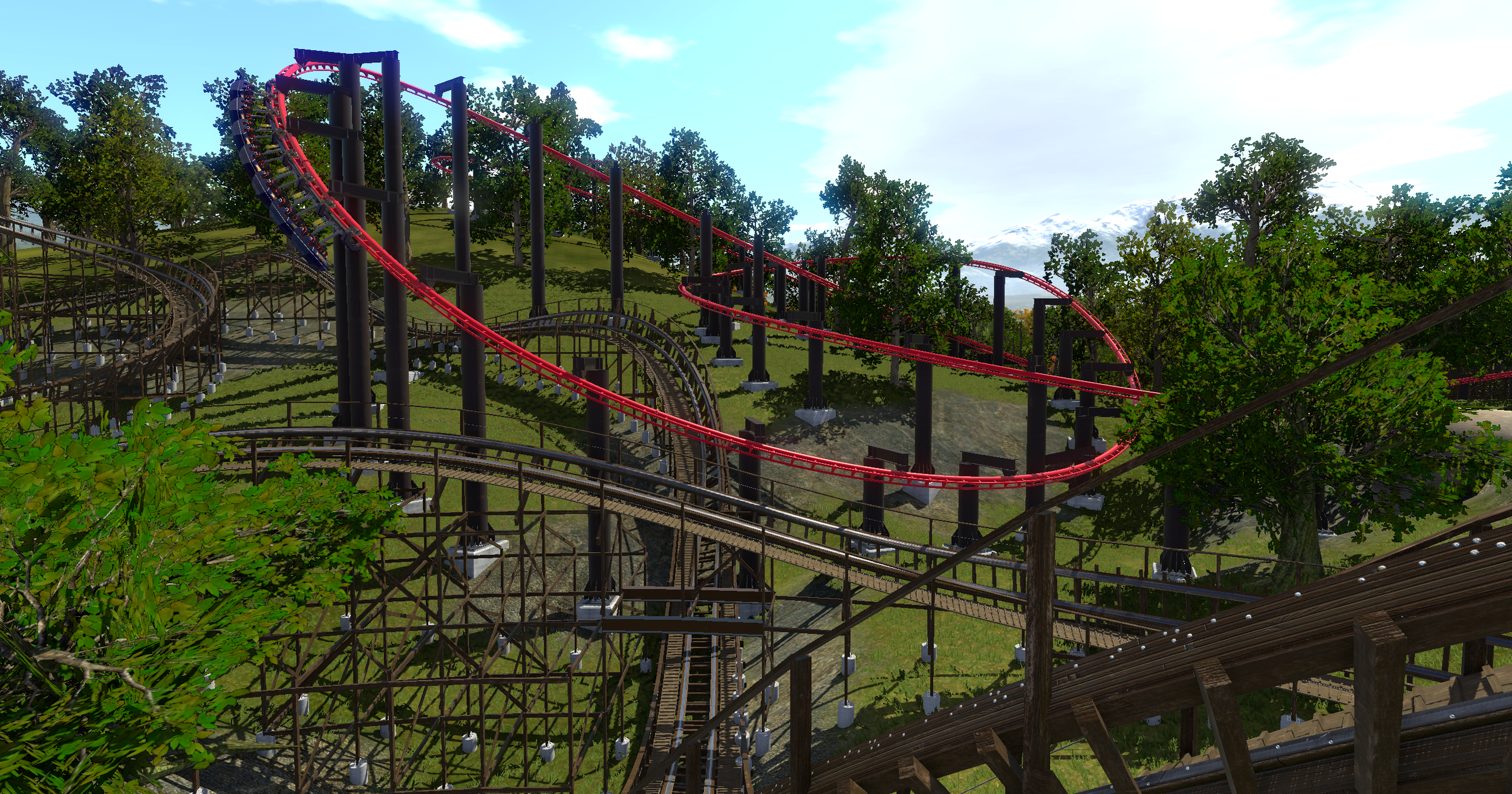 """You can """"ride"""" the coasters, operate the controls manually, and do pretty much anything you want."""