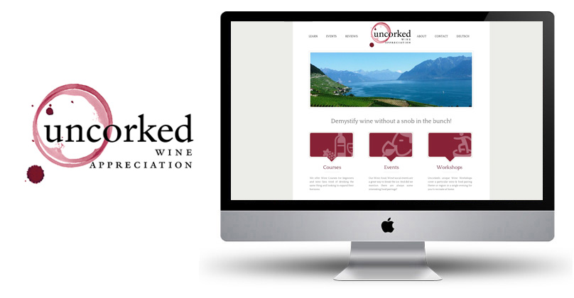 Squarespace Site - Uncorked Wine