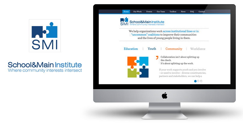 Squarespace Site - School and Main