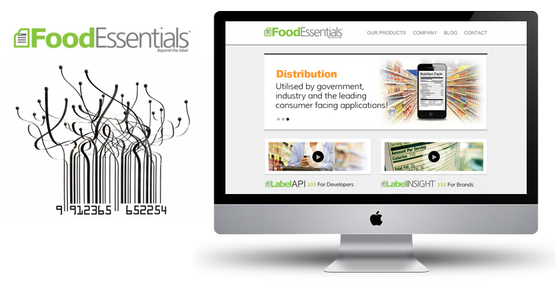 Food Essentials - Squarespace Website