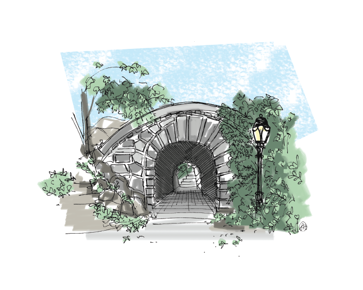 """Central Park"" Print - commissioned artwork"