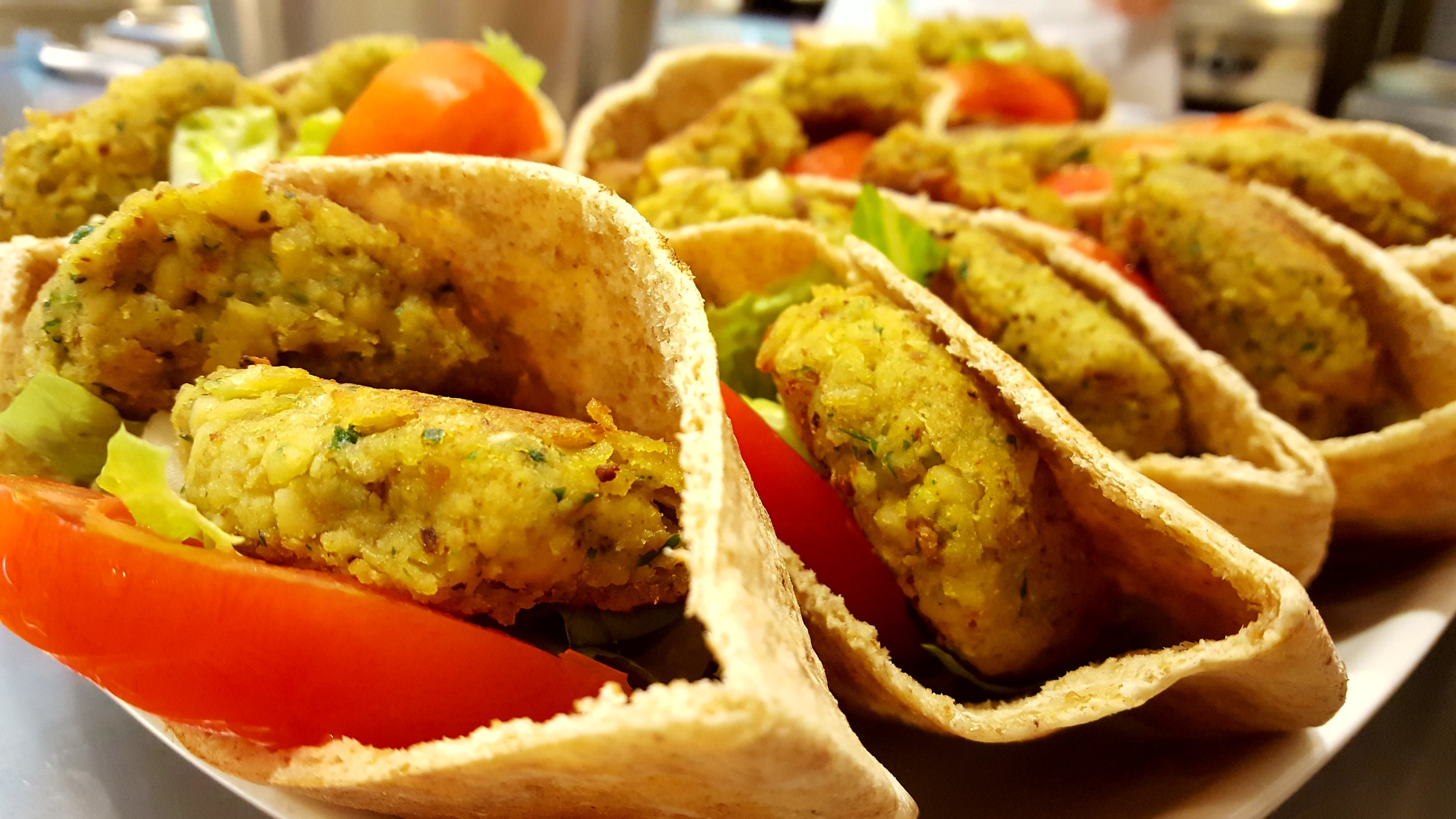 Each pocket is full of vegetarian goodness!