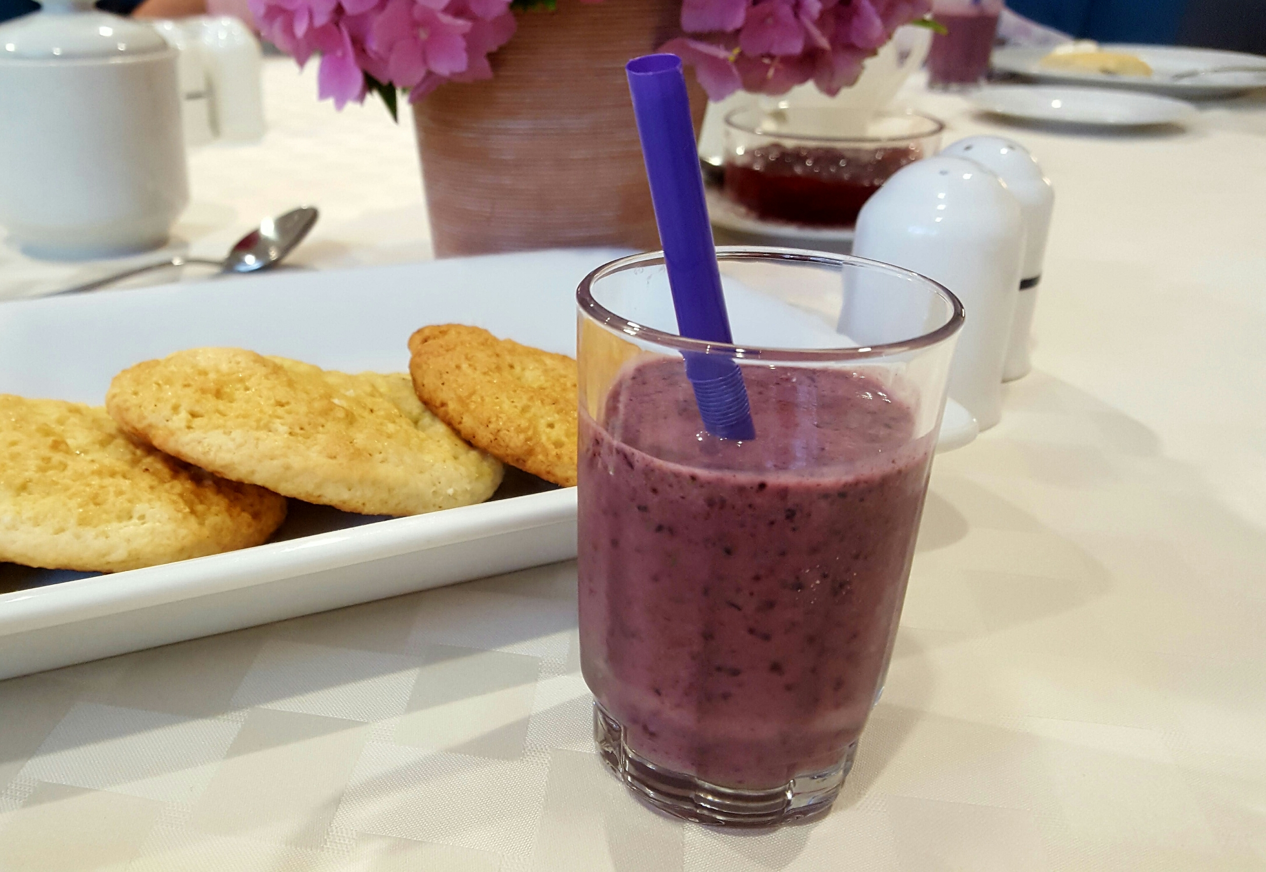 Breakfast Smoothies - Kale and Blueberry