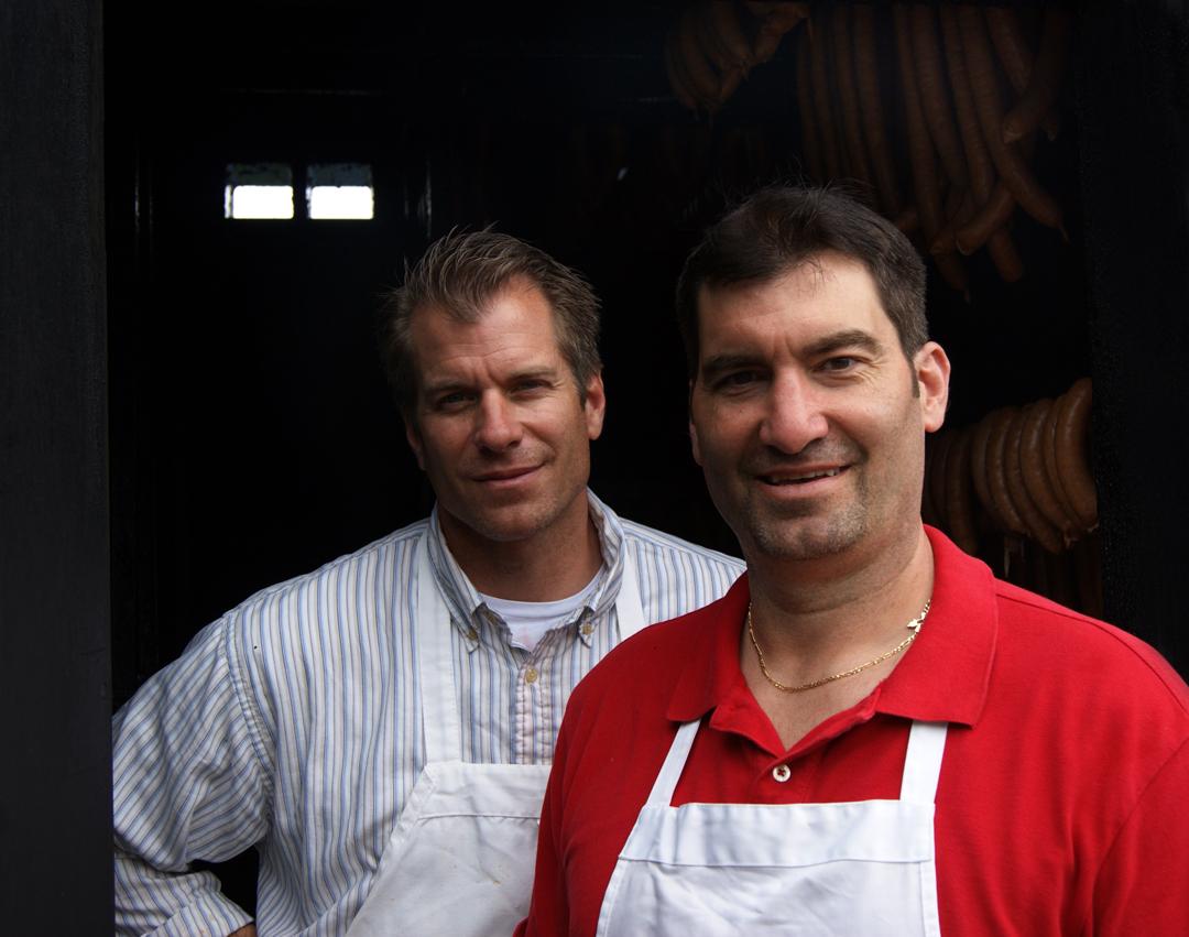 Doug & Don Jorich, Sausage Makers