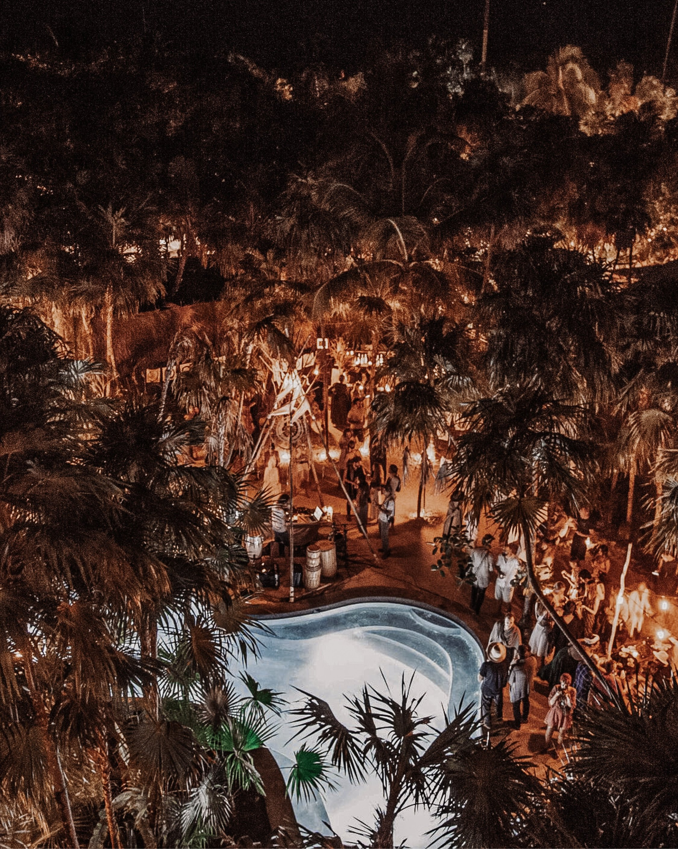Our Scorpios Sunset Ritual at Tulum Treehouse, featuring a live set from Uji.