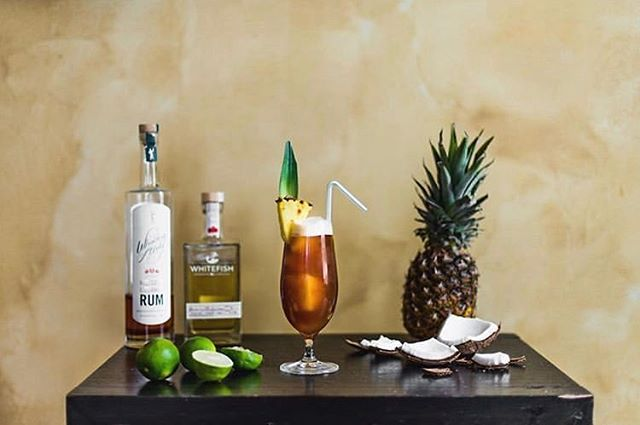 Tropical vibes from @montana_mixology with our Hibiscus Coconut Rum.
