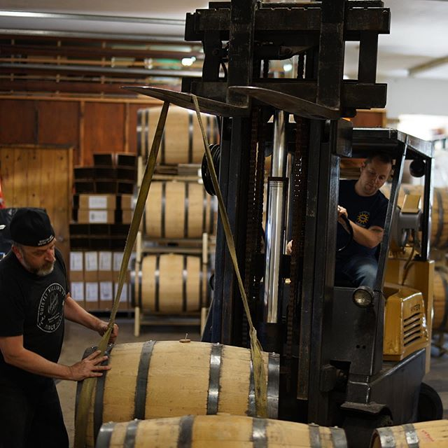 We had a great day of moving barrels around the distillery today, the ultimate Jenga game.... now we are headed to The Raven in Woods Bay for their community night to help raise funds for the New Bigfork Library. $5 of every Whistling Andy cocktail will be donated to the cause as well as all the profit from their Indian Dinner special!! Come enjoy the last days of summer with us.  P.S. the Tommy's will be ripping great music all evening as well!