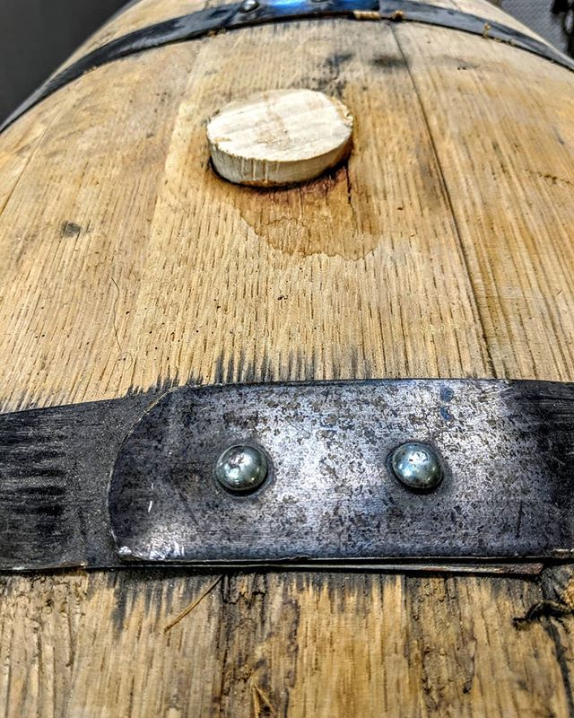 Whiskey Barrel Fact:  The inside of barrels were originally burnt to remove the leftover flavors of goods that were previously stored within them. It is also said that the practice of using charred  barrels dates back to the 15th Century amongst French Cognac Distillers. Here's to spending our Wednesday harvesting our latest barrels and getting them in bottles for you to enjoy!  Cheers! 🥃