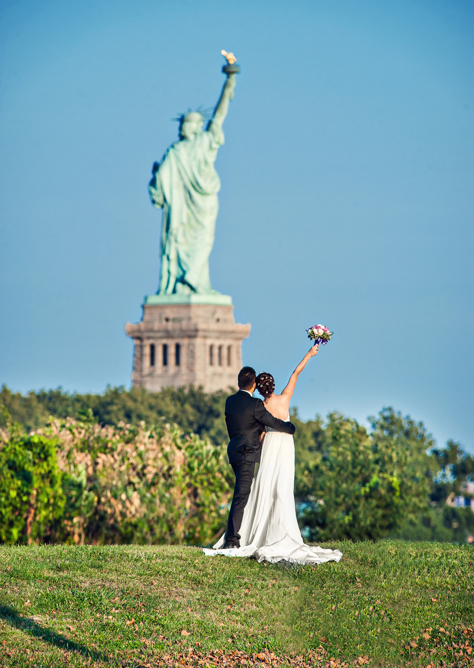 Chris_Hui_婚禮_婚紗照_pre_wedding_photography_best_004_statue_of_liberty_自由女神像.jpg