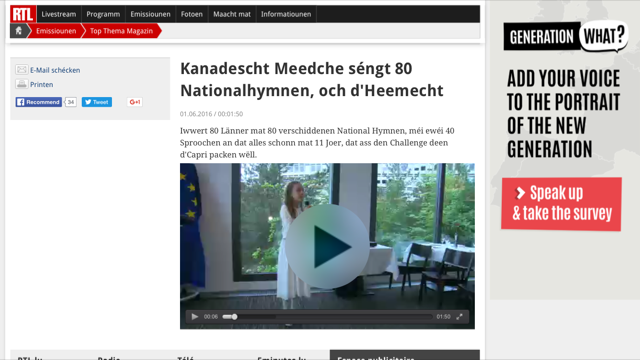 Luxembourg: RTL TV