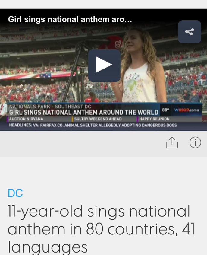 Capri Sings Her Final Anthem!!!