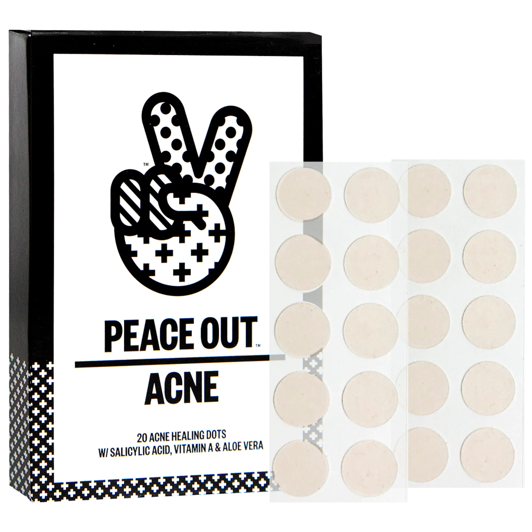 Peace Out  acne clearing dots