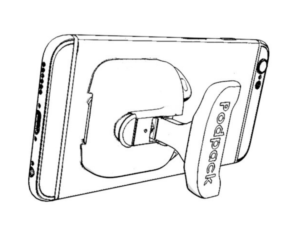 Step 3: There is no Step 3! Simply enjoy the kickstand on your phone. -